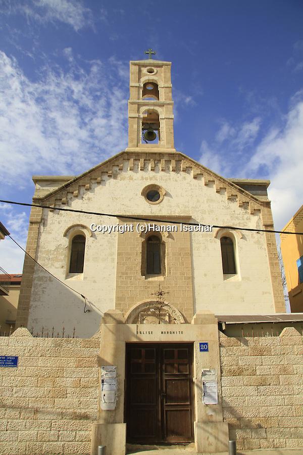 Israel, Tel Aviv-Yafo, the Maronite Church in Jaffa