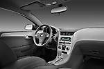 Passenger side dashboard view of a 2012 Chevrolet Malibu 1LS .
