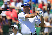 Lee Westwood (ENG) tees off the 1st tee to start his match during Friday's Round 2 of the 117th U.S. Open Championship 2017 held at Erin Hills, Erin, Wisconsin, USA. 16th June 2017.<br /> Picture: Eoin Clarke | Golffile<br /> <br /> <br /> All photos usage must carry mandatory copyright credit (&copy; Golffile | Eoin Clarke)