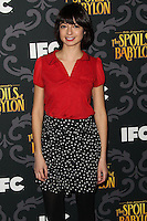 "LOS ANGELES, CA - JANUARY 07: Kate Micucci arriving at the Los Angeles Screening Of IFC's ""The Spoils Of Babylon"" held at the Directors Guild Of America on January 7, 2014 in Los Angeles, California. (Photo by Xavier Collin/Celebrity Monitor)"