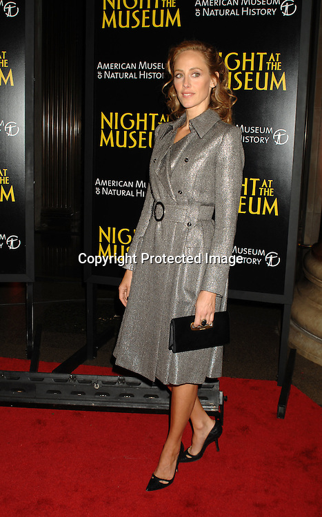 "Kim Raver..at The World Movie Premiere of ""Night At The Museum"" and the official launch of the Natural History Museum's sleeepover program on December 17, 2006 at The American Museum of Natural History in New York...Robin Platzer, Twin Images"
