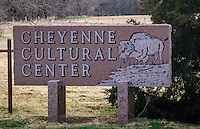 The Cheyenne Cultural Centor was built by Peace Chief Lawrence Hart to keep the Cheyenne culture, language, and traditions alive.  The Center is located on the original Red Wheat allotment of the Cheyenne-Arapaho Indian Reservation.