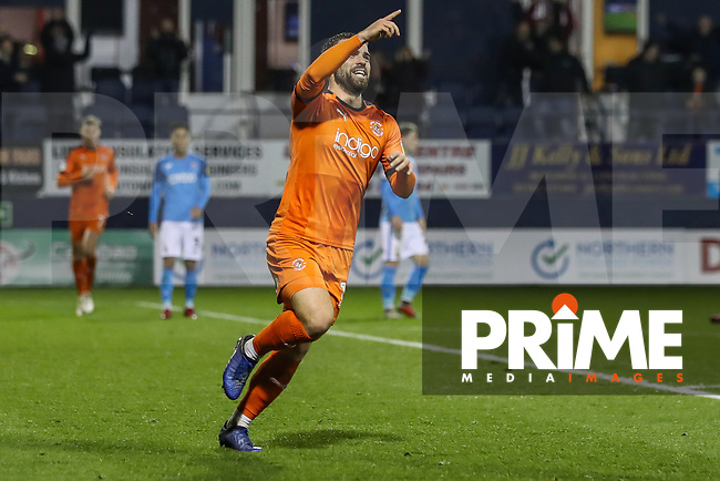 GOAL - Elliot Lee of Luton Town celebrates after he scores his team's second goal during the Sky Bet League 1 match between Luton Town and Bradford City at Kenilworth Road, Luton, England on 27 November 2018. Photo by David Horn.