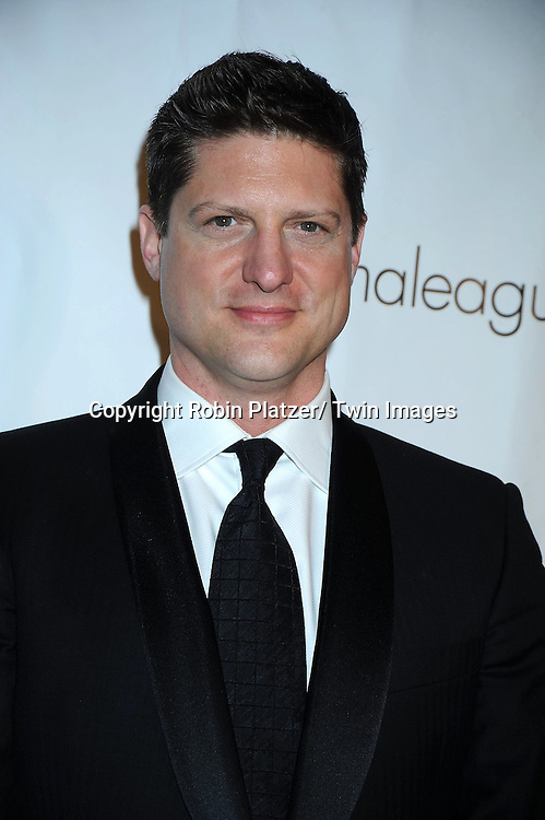 Christopher Sieber attending The Drama League's 27th Annual All-Star Benefit Gala honoring Patti LuPone.on February 7, 2011 at The Pierre Hotel in New York City.