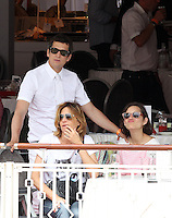 Marion Cotillard and Guillaume Canet during the 2013 Monte Carlo Jumping