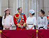PRINCE HARRY,PRINCE WILLIAM, KATE, RINCESS EUGENIE AND PRINCESS BEATRICE<br /> watch the flypast by the RAF on the balcony of Buckingham Palace during Trooping of the Colour.<br /> The Duke of Edinburgh missed the event as he is hospitalised after undergoing surgery.<br /> The Trooping marks the official birthday of the Queen_15/6/2013<br /> Mandatory Credit Photo: &copy;NEWSPIX INTERNATIONAL<br /> <br /> **ALL FEES PAYABLE TO: &quot;NEWSPIX INTERNATIONAL&quot;**<br /> <br /> IMMEDIATE CONFIRMATION OF USAGE REQUIRED:<br /> Newspix International, 31 Chinnery Hill, Bishop's Stortford, ENGLAND CM23 3PS<br /> Tel:+441279 324672  ; Fax: +441279656877<br /> Mobile:  07775681153<br /> e-mail: info@newspixinternational.co.uk