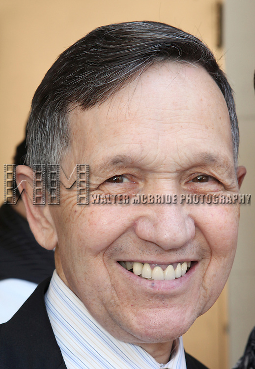 Congressman Dennis Kucinich.attending 'Gore Vidal - A Celebration' at the Schoenfeld Theatre in New York City on August 23, 2012