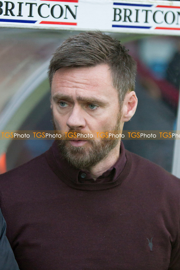 Graham Alexander Scunthorpe (manager) during Scunthorpe United vs Oxford United, Sky Bet EFL League 1 Football at Glanford Park on 26th November 2016