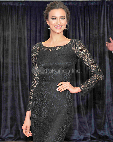 Irina Shayk arrives for the 2013 White House Correspondents Association Annual Dinner at the Washington Hilton Hotel on Saturday, April 27, 2013.<br /> Credit: Ron Sachs / CNP<br /> (RESTRICTION: NO New York or New Jersey Newspapers or newspapers within a 75 mile radius of New York City) /MediaPunch