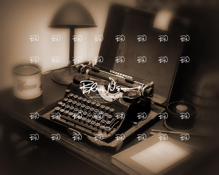 William Faulkner's typewriter in Oxford, Miss.