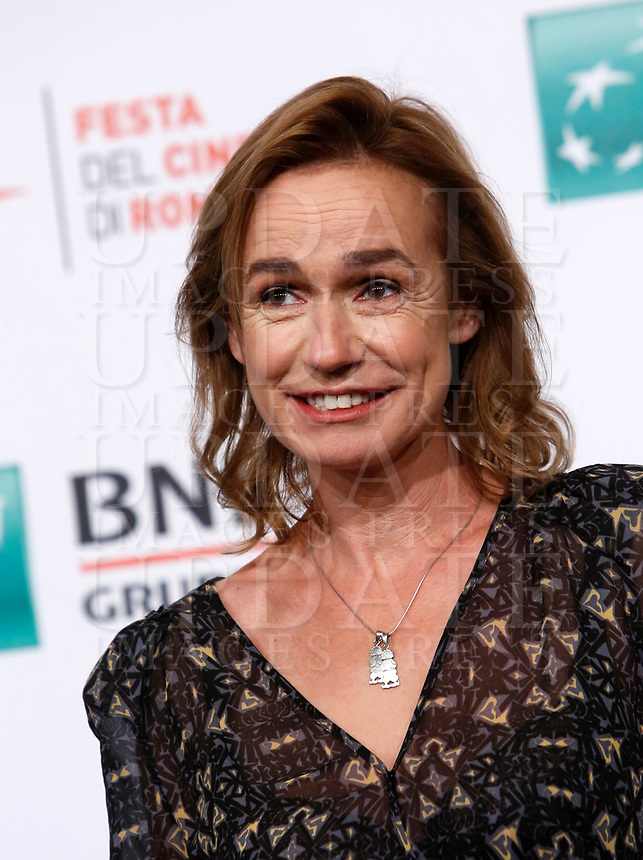 """French actress Sandrine Bonnaire poses during a photo call to present the movie """"Prendre le large"""" (""""Catch the wind"""") during the international Rome Film Festival at Rome's Auditorium, 29 October 2017.<br /> UPDATE IMAGES PRESS/Riccardo De Luca"""