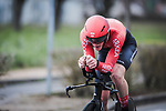 Connor Swift (ENG) Team Arkea-Samsic in action during Stage 4 of the 78th edition of Paris-Nice 2020, and individual time trial running 15.1km around Saint-Amand-Montrond, France. 11th March 2020.<br /> Picture: ASO/Fabien Boukla | Cyclefile<br /> All photos usage must carry mandatory copyright credit (© Cyclefile | ASO/Fabien Boukla)