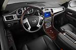 High angle dashboard view of a 2007 - 2014 Cadillac Escalade ESV Premium SUV