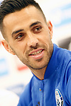 Israel's Eran Zahavi in press conference after training session. March 23,2017.(ALTERPHOTOS/Acero)