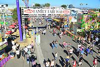 Family Fair Way At The Orange County Fair