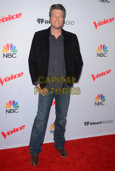 23 April 2015 - West Hollywood, California - Blake Shelton. Arrivals for The Voice Spring Break Concert held at The Pacific Design Center.  <br /> CAP/ADM/BT<br /> &copy;BT/AdMedia/Capital Pictures