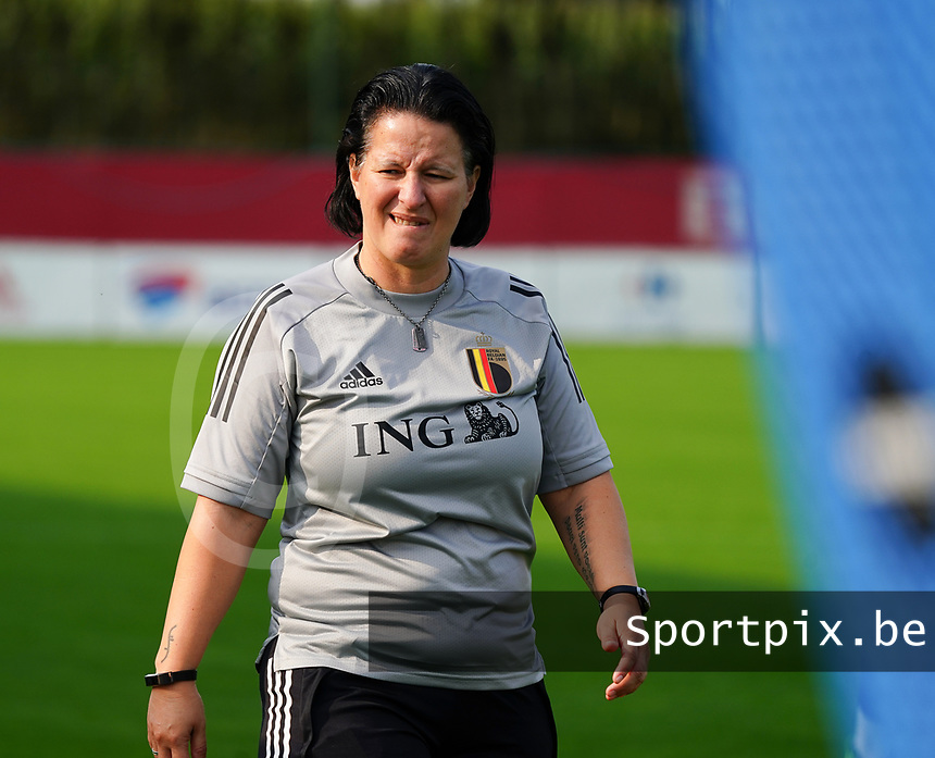 20200911 - TUBIZE , Belgium : Tamara Cassimon pictured during a training session of the Belgian Women's National Team, Red Flames , on the 11th of September 2020 in Tubize. PHOTO SEVIL OKTEM| SPORTPIX.BE