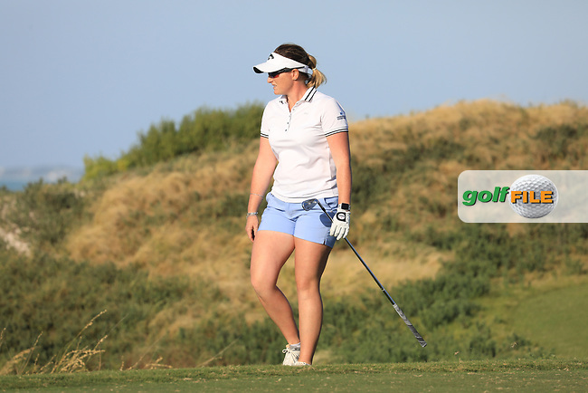 Holly Clyburn (ENG) during the second round of the Fatima Bint Mubarak Ladies Open played at Saadiyat Beach Golf Club, Abu Dhabi, UAE. 11/01/2019<br /> Picture: Golffile | Phil Inglis<br /> <br /> All photo usage must carry mandatory copyright credit (© Golffile | Phil Inglis)