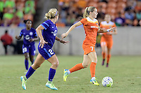 Houston, TX - Saturday Sept. 03, 2016: Kealia Ohai during a regular season National Women's Soccer League (NWSL) match between the Houston Dash and the Orlando Pride at BBVA Compass Stadium.