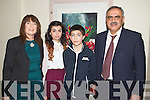 Pictured at the Bons Foundation Dinner on Thursday last in Ballyroe Heights Hotel were l-r: Gerardine Gardezi, Yamsmin Gardezi, Ail Gardezi and Ghulam Grads (all, Tralee).