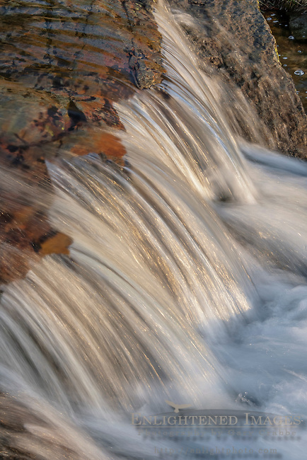 Stream detail at Eagle Falls, South Lake Tahoe, California
