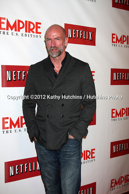 LOS ANGELES - OCT 2:  Graham McTavish arrives at the Empire US for iPad Launch at Sunset Tower Hotel on October 2, 2012 in West Hollywood, CA