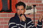 General Hospital - Jason Thompson joins fans at Uncle Vinnie's Comedy Club in Point Pleasant, New Jersey on Novermber 14, 2010 for fun, questions. photos and autographs. (Photo by Sue Coflin/Max Photos)