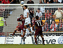12/08/2006        Copyright Pic: James Stewart.File Name : sct_jspa16_motherwell_v_aberdeen.MOTHERWELL KEEPER GRAEME SMITH SEEMS TO BE IMPEADED B Y KARIM TOUZANI JUST BEFORE DARREN MACKIE SCORED ABERDEEN'S SECOND.......Payments to :.James Stewart Photo Agency 19 Carronlea Drive, Falkirk. FK2 8DN      Vat Reg No. 607 6932 25.Office     : +44 (0)1324 570906     .Mobile   : +44 (0)7721 416997.Fax         : +44 (0)1324 570906.E-mail  :  jim@jspa.co.uk.If you require further information then contact Jim Stewart on any of the numbers above.........