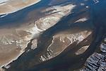 Kenya, Rift Valley, small delta at Lake Magadi