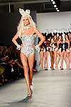 The Blonds runway show featuring partnership with Playboy during Mercedes Benz Fashion Week Spring/Summer 2012. New York City.