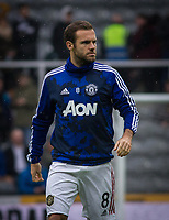 Juan Mata of Man Utd pre match during the Premier League match between Newcastle United and Manchester United at St. James's Park, Newcastle, England on 6 October 2019. Photo by J GILL / PRiME Media Images.