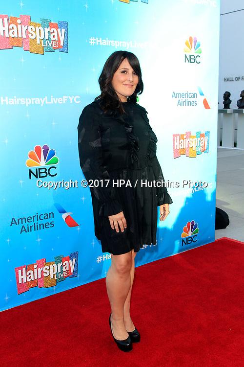 LOS ANGELES - JUN 9:  Ricki Lake at the NBC's 'Hairspray Live!' FYC Event at the ATAS Saban Media Center on June 9, 2017 in North Hollywood, CA