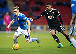 St Johnstone v Hamilton Accies&hellip;10.11.18&hellip;   McDiarmid Park    SPFL<br />Liam Craig is pulled back by Mason Bloomfield<br />Picture by Graeme Hart. <br />Copyright Perthshire Picture Agency<br />Tel: 01738 623350  Mobile: 07990 594431