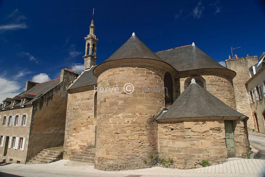 France, Finistère (29), Douarnenez, la chapelle Saint-Michel // France, Finistere, Douarnenez, chapel Saint-Michel
