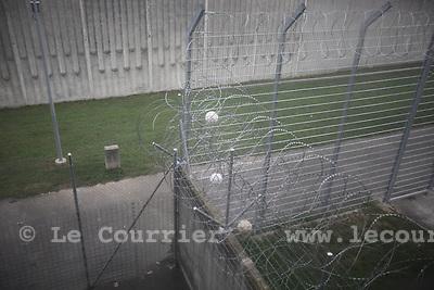 Genève, le 18.08.2010.Prison genevoise de Champ-Dollon.© Jean-Patrick / Le Courrier