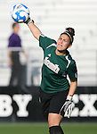 07 December 2007: Notre Dame's Lauren Karas. The Florida State Seminoles defeated the University of Notre Dame Fighting Irish played 3-2 at the Aggie Soccer Stadium in College Station, Texas in a NCAA Division I Womens College Cup semifinal game.