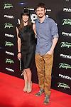 Gorka Ochoa and Eva Ugarte attends `Open Windows´new film premiere at Palafox Cinemas in Madrid, Spain. June 30, 2014. (ALTERPHOTOS/Victor Blanco)