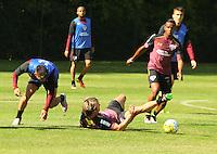 SÃO PAULO,SP,28.07.2016 - FUTEBOL-SÃO PAULO - Lugano durante treino técnico da equipe no Ct da Barra Funda zona oeste da cidade, na manhã desta quinta-feira (28). (Foto : Marcio Ribeiro / Brazil Photo Press)
