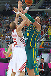 07.09.2014. Barcelona, Spain. 2014 FIBA Basketball World Cup, round of 16. Picture show D. Andersen in action during game between Turkey   v Australia at Palau St. Jordi