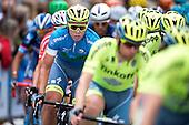 5 etape af Postnord Danmark Rundt <br /> Michael Valgren team Tinkoff p&aring; dagens etape