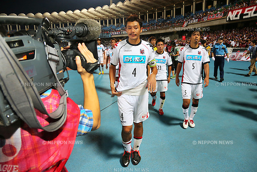 Ryuji Kawai (Consadole), .September 29, 2012 - Football / Soccer : .2012 J.LEAGUE Division 1, 27th Sec .match between Kawasaki Frontale 1-0 Consadole Sapporo .at Kawasaki Todoroki Stadium, Kanagawa, Japan. .(Photo by Daiju Kitamura/AFLO SPORT) [1045]