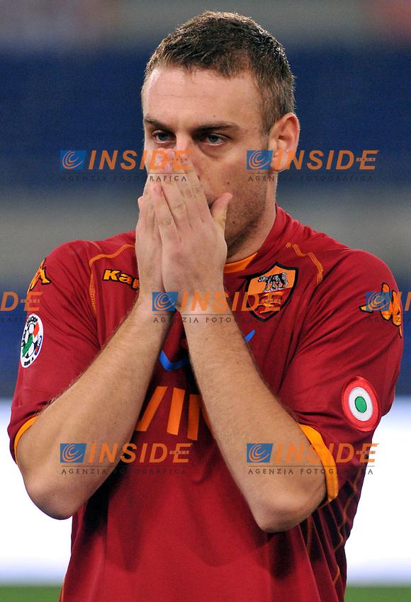 Daniele de Rossi (Roma)<br /> Roma 28/1/2009 Stadio &quot;Olimpico&quot; <br /> Campionato Italiano Serie A 2008/2009 <br /> Roma Palermo <br /> Foto Massimo Oliva/Inside