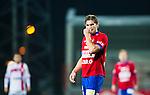 S&ouml;dert&auml;lje 2014-11-09 Fotboll Kval till Superettan Assyriska FF - &Ouml;rgryte IS :  <br /> &Ouml;rgrytes David Leinar deppar under matchen mellan Assyriska FF och &Ouml;rgryte IS <br /> (Foto: Kenta J&ouml;nsson) Nyckelord:  S&ouml;dert&auml;lje Fotbollsarena Kval Superettan Assyriska AFF &Ouml;rgryte &Ouml;IS depp besviken besvikelse sorg ledsen deppig nedst&auml;md uppgiven sad disappointment disappointed dejected