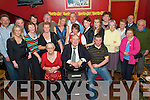 Young at Heart - Patsy McKenna from Ardfert, seated centre having a wonderful night out with family and friends at his 80th birthday party held in McElligot's Bar, Ardfert on Saturday night......................................................................................................................................... ............