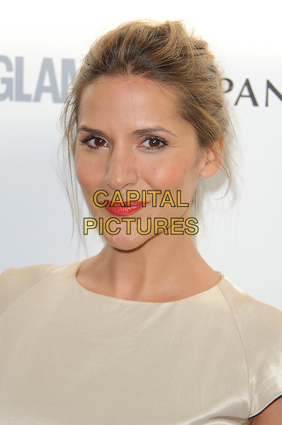 Amanda Byram.The Glamour Women of the Year Awards 2011 - inside arrivals London, England..June 7th, 2011.headshot portrait red lipstick beige top h .CAP/CJ.©Chris Joseph/Capital Pictures.