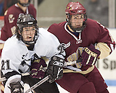 Jon Rheault, Benn Ferreiro - The Boston College Eagles defeated the Providence College Friars 4-1 on Saturday, January 7, 2006, at Schneider Arena in Providence, Rhode Island.