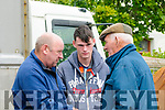 Ballyduff Horse Fair : Pictured at Ballyduff horse fair on Sunday last were Thomas & Jack O'Sullivan, Ballybunion & Sean O'Halloran, Ballyheigue.