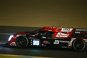 June 14 and 15th 2017,  Le Mans, France; Le man 24 hour race qualification sessions at the Circuit de la Sarthe, Le Mans, France;  #23 PANIS BARTHEZ COMPETITION (FRA) LIGIER JSP217 LMP2 FABIEN BARTHEZ (FRA) TIMOTHE BURET (FRA) NATHANAEL BERTHON (FRA)