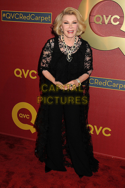 28 February 2014 - Los Angeles, California - Joan Rivers. QVC Presents Red Carpet Style held at the Four Seasons Hotel. <br /> CAP/ADM/BP<br /> &copy;Byron Purvis/AdMedia/Capital Pictures