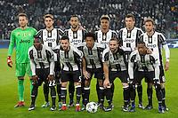 Juventus Team Lineups Formazione <br /> Torino 07-12-2016 Juventus Stadium Football Calcio Champions League 2016/2017 Juventus - Dinamo Zagreb . Foto Filippo Alfero Insidefoto